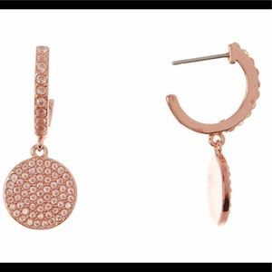 Kate Spade CZ Pave Drop Earrings, NWT